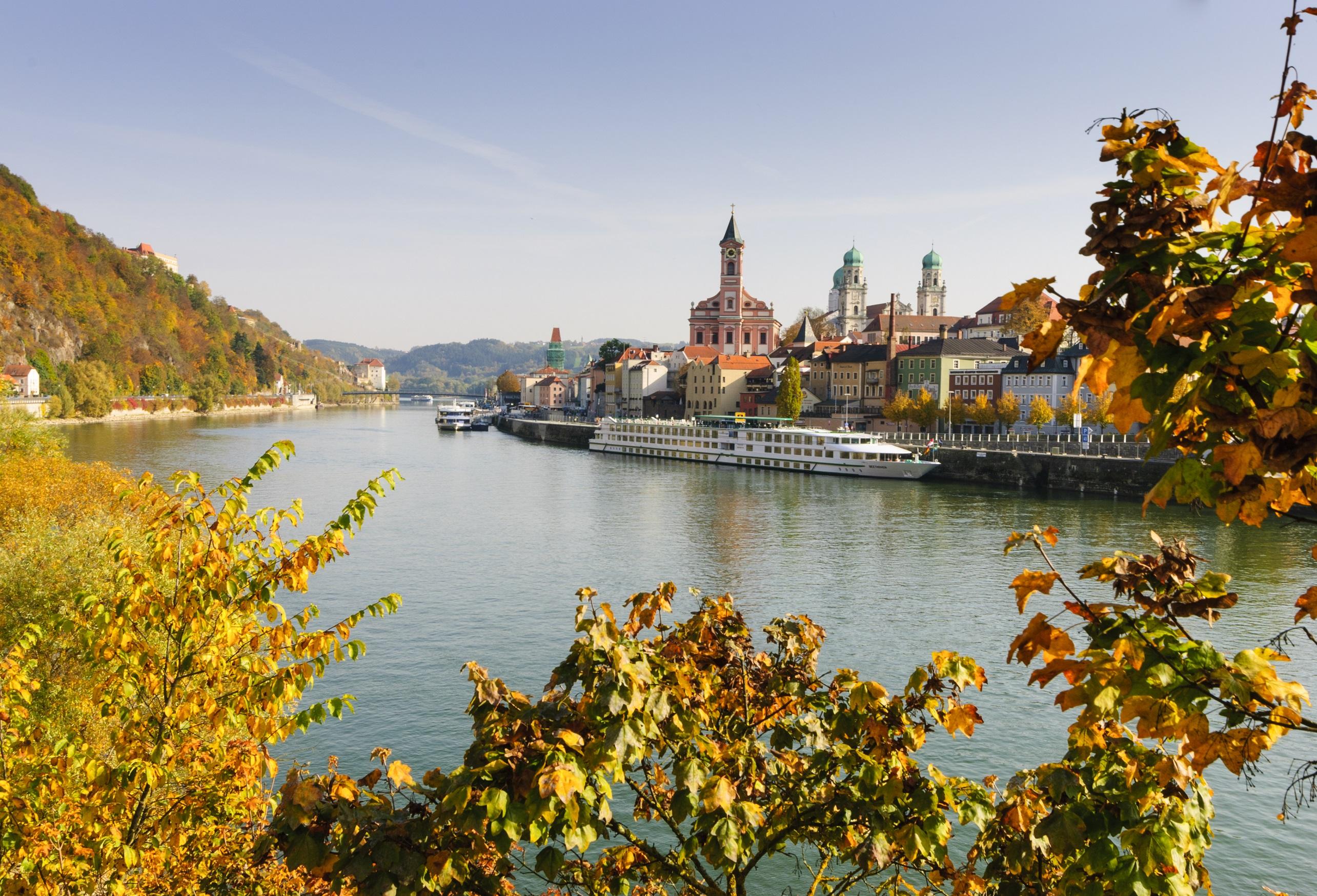 Donau und Altstadt
